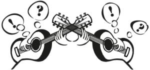 Spela vänsterhänt gitarr