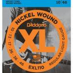 Elgitarrsträngar D*Addario EXL110