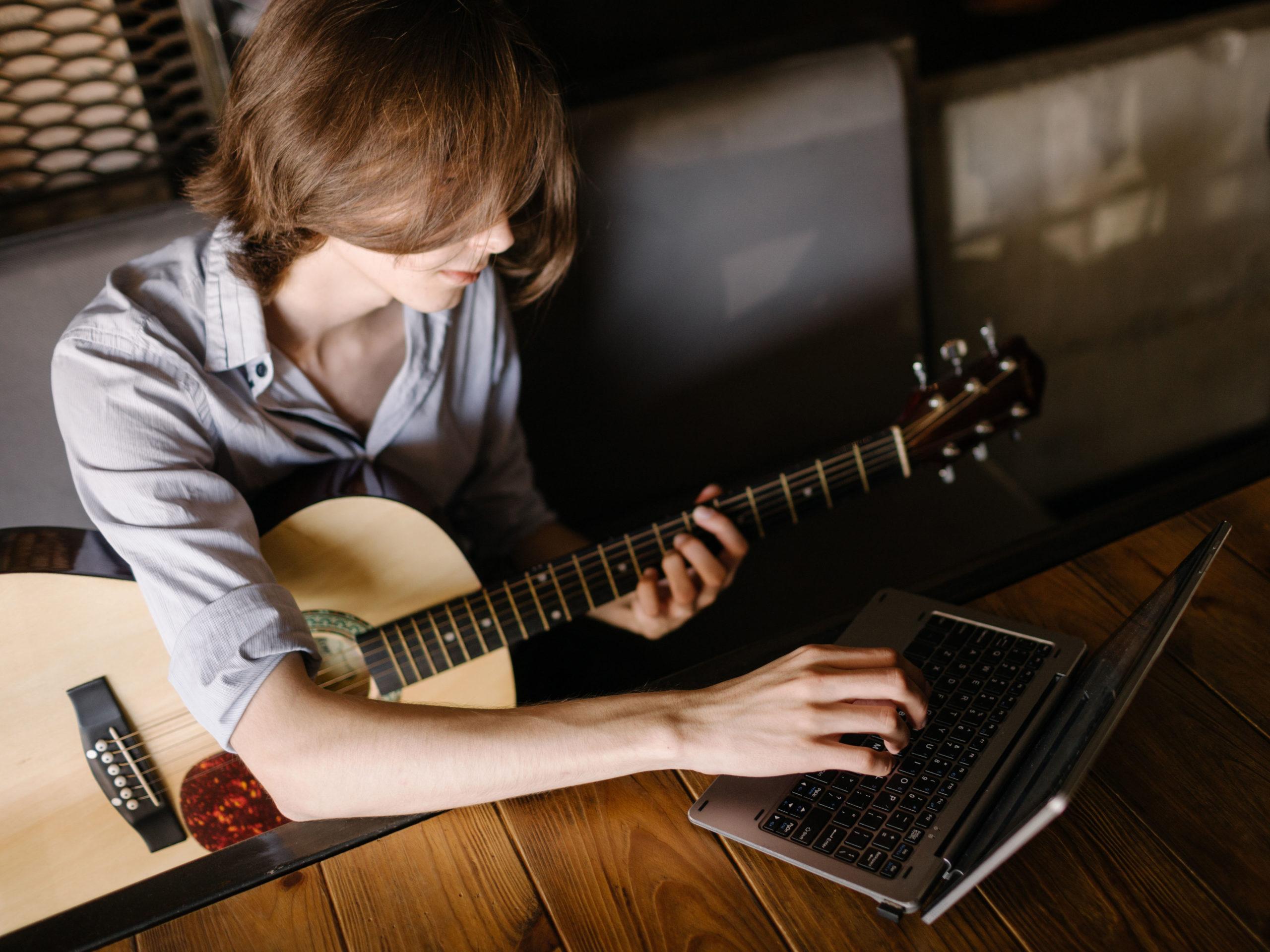 Gitarrundervisning via Skype